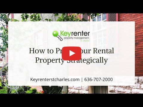 How to Price Your Rental Property Strategically