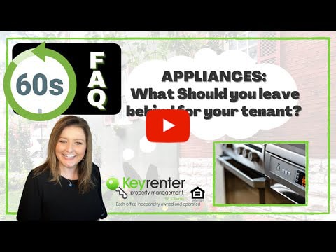 What should you leave behind for your tenants?