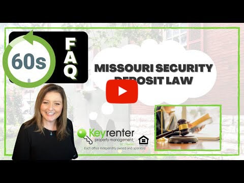 What Missouri Landlords Need to Know About Security Deposits
