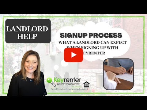 Signing up with Keyrenter St. Charles Property Management: What Landlords can expect.